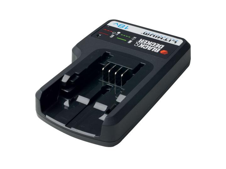 Chargeur batterie Lithium-Ion Black + Decker