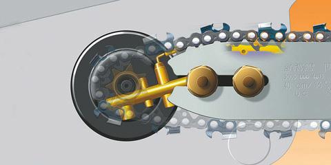 Système de lubrification Ematic de Stihl