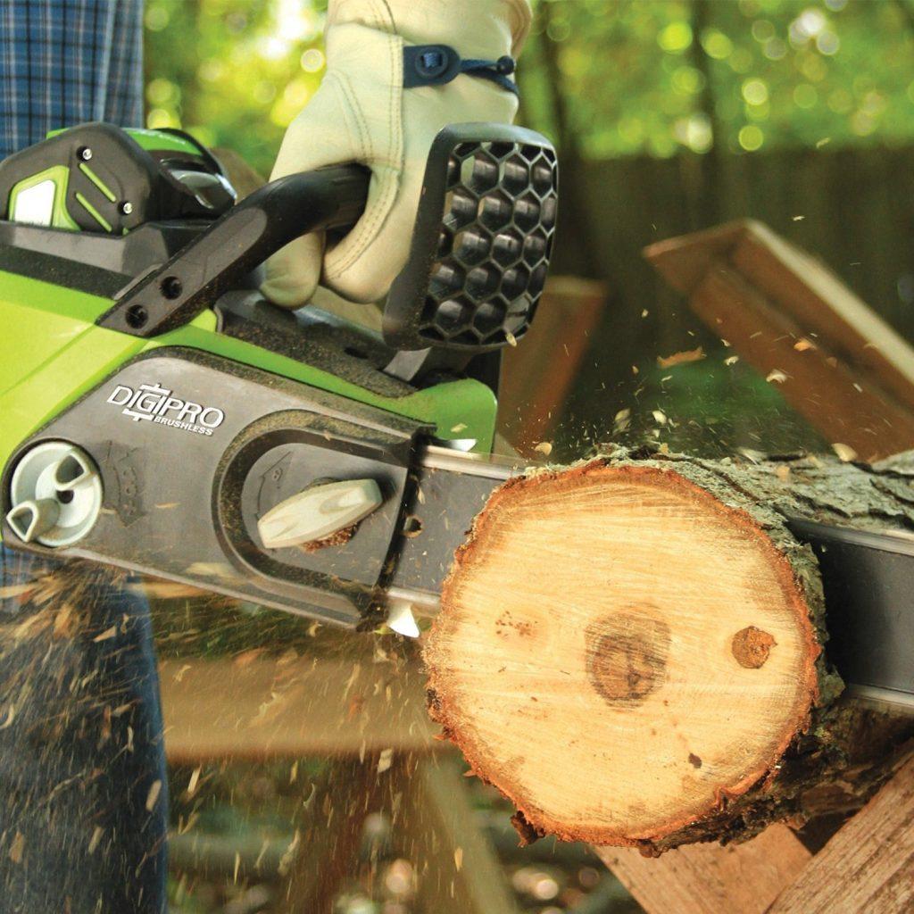 Utilisation Greenworks Tools modèle 20077