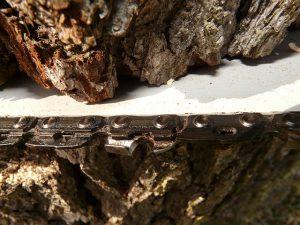 Limiteurs de profondeur d'une chaîne de tronçonneuse