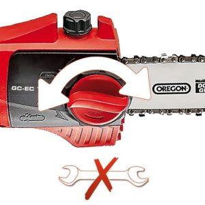 Système de tension de la chaîne sans outils Einhell GC-EC 750 T