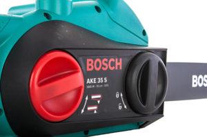 Système de tension de chaîne sans outils Bosch AKE 35 S