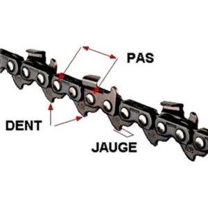 description chaîne tronçonneuse